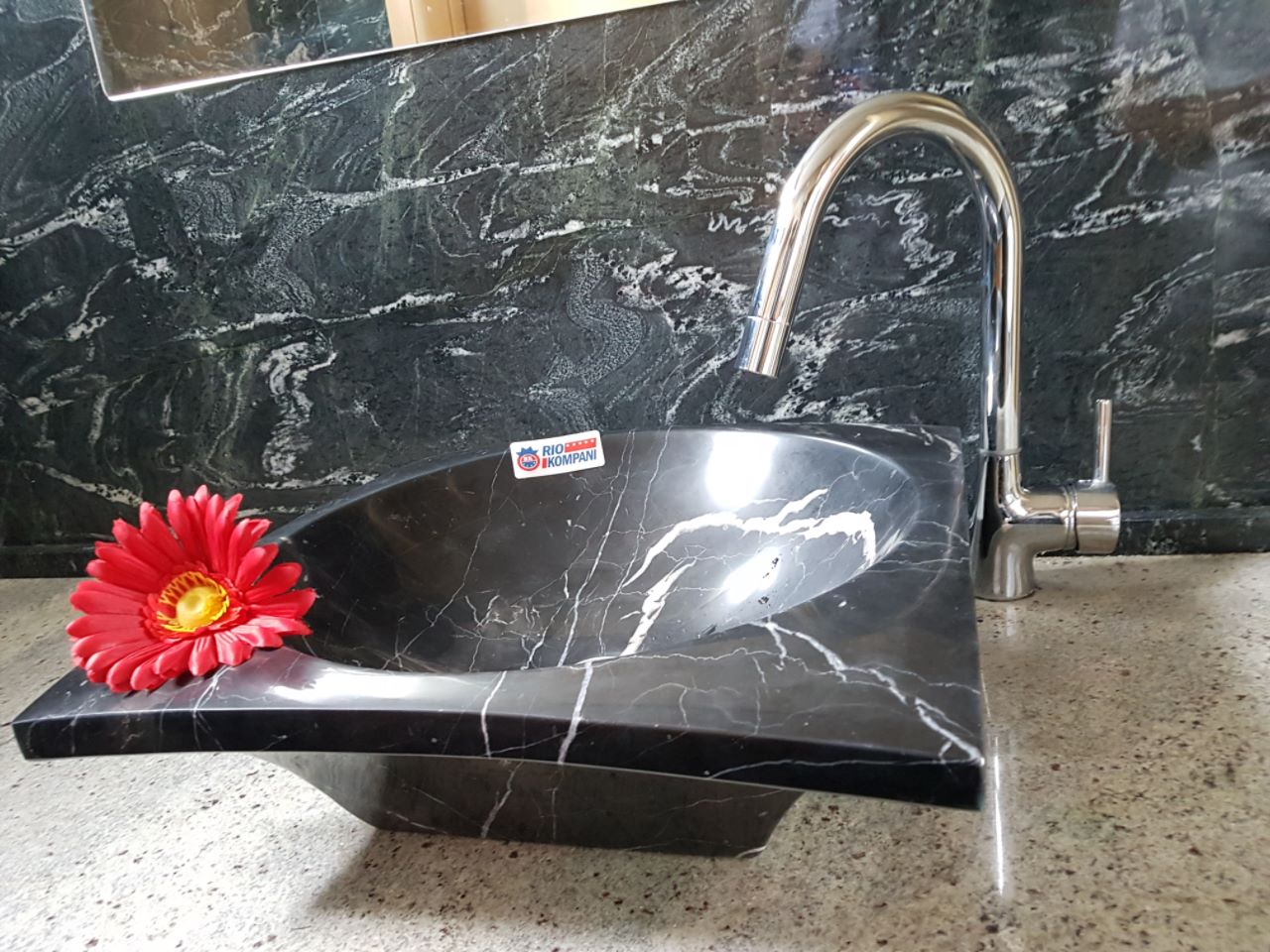 Washbasin Nero Marquina