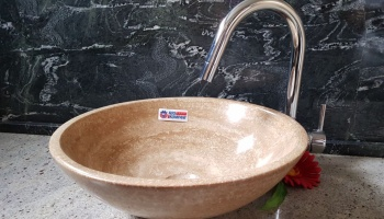Washbasin Travertine