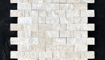 BEIGE TRAVERTIN MOSAIC